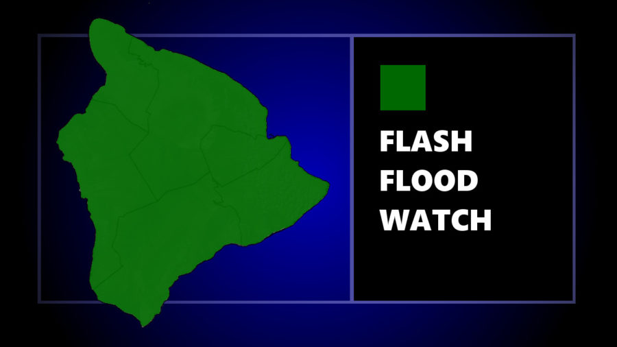Flash Flood Watch Issued For All Day Tuesday