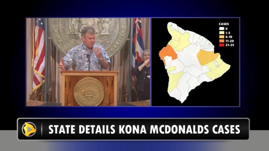 VIDEO: COVID-19 Cluster Linked To Kona McDonalds