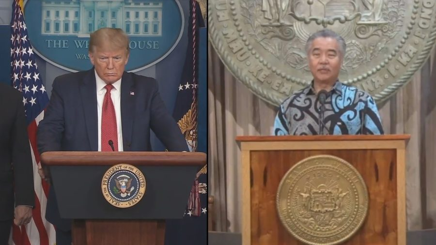 VIDEO: Trump Issues Criteria For Reopening Nation, Hawaii Says Not Ready