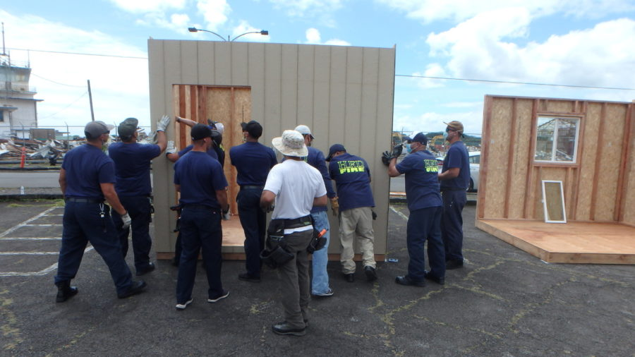 New Emergency Shelter Construction Underway In Hilo