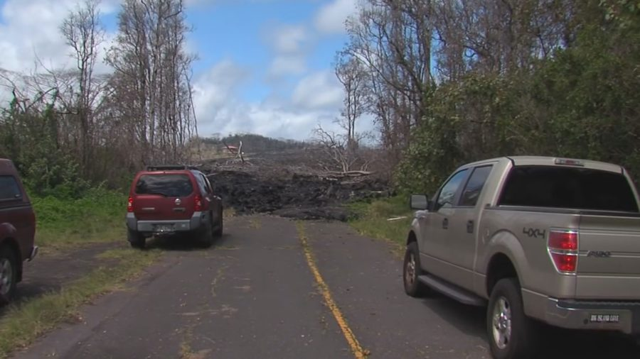 FEMA Awards $61 Million To Rebuild Lava Covered Roads In Puna