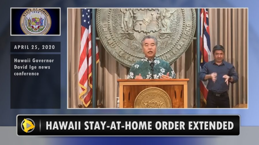 VIDEO: Hawaii Stay-At-Home Order Extended To End Of May