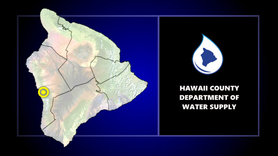 South Kona Water Conservation In Effect After Equipment Failure