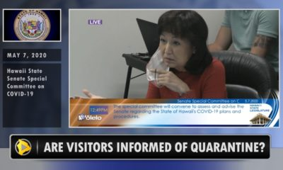 VIDEO: Airline Rep Questioned On Informing Passengers About Quarantine