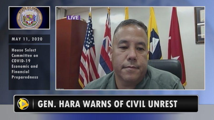 VIDEO: General Hara Warns Of Civil Unrest