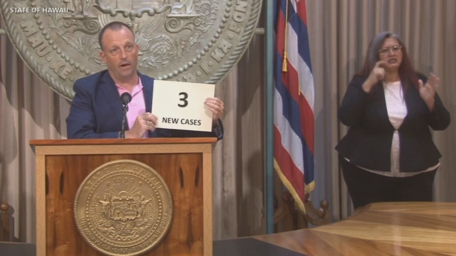 VIDEO: Updates From Hawaii Governor, Lt Gov, and Health Director