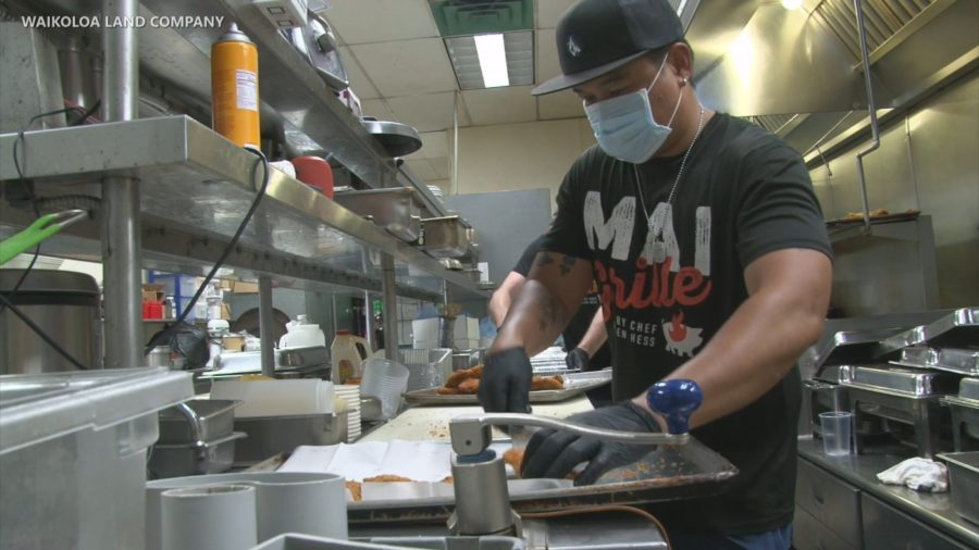 VIDEO: Sunday Dinners Provided For Hard Hit Waikoloa Employees