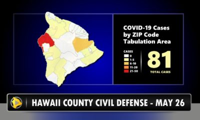 Only One Active COVID-19 Case Reported On Hawaii Island Tuesday Morning