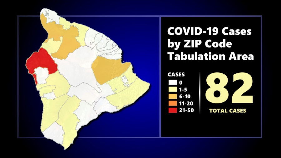COVID-19 Update For May 27: New Case On Hawaii, Map Shows Kohala Color Change