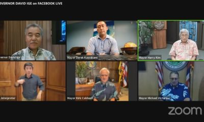 VIDEO: Mayor Kim Takes Questions During Governor's Livestream
