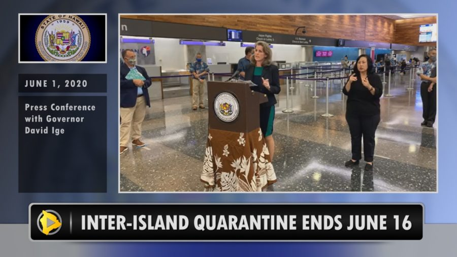 VIDEO: Hawaii Inter-Island Travel Quarantine To End June 16