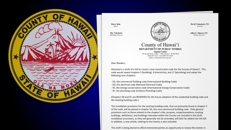 Comments Sought On Hawaiʻi County Code Changes