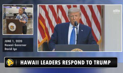VIDEO: Hawaii Leaders Respond To President Trump