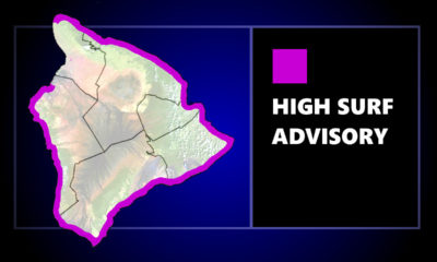 High Surf Advisory In Effect For Hawaiʻi Island