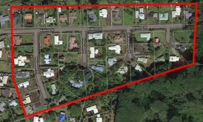 Street Light Repairs Begin In Kaumana