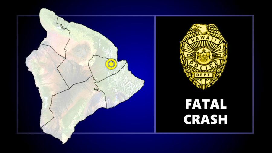 Police Detail Fatal Crash On Daniel K. Inouye Highway Near Kaumana