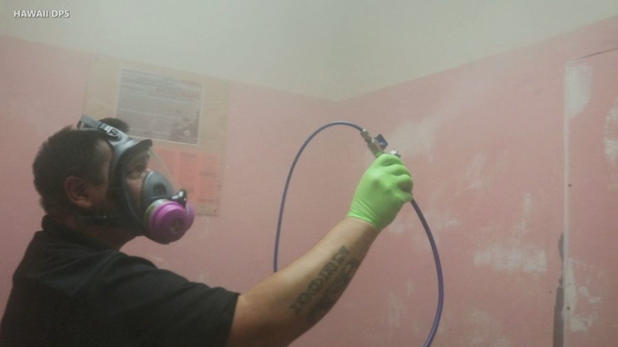 VIDEO: Disinfecting Dry Fog Used At Hawaii Correctional Facilities