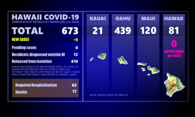 Hawaii COVID-19 Updates For Saturday: 9 More New Cases