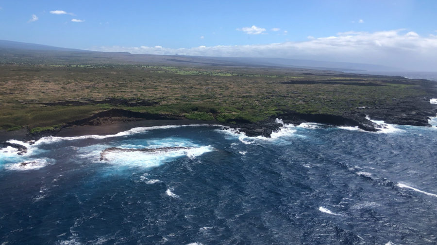 Rescue Crews Search For Missing Fisher In Waters Near Punaluʻu