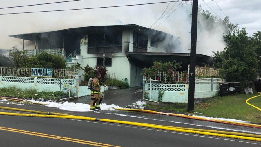 Tragic House Fire Stuns Pahala Community