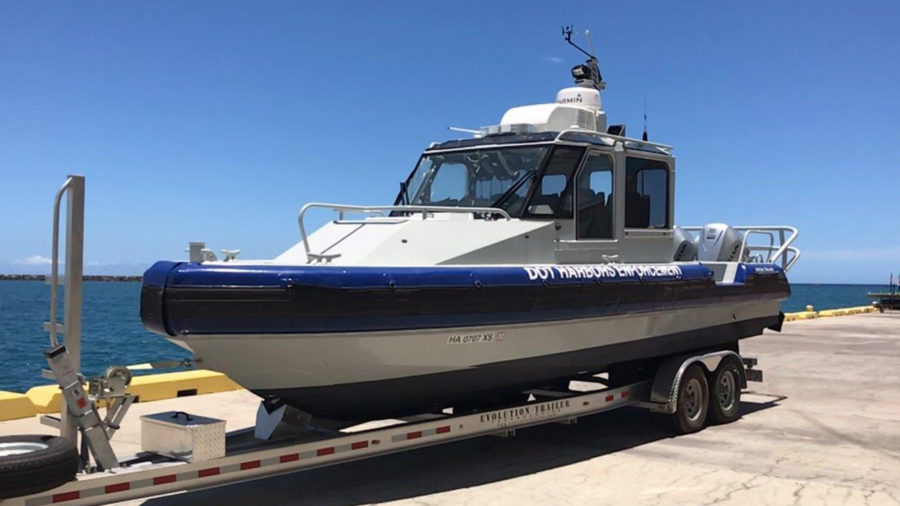 New Security & Disaster Recovery Vessels Added To Hawaii Harbors