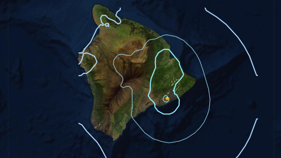Earthquake Shakes Hawaiʻi Island Thursday Night