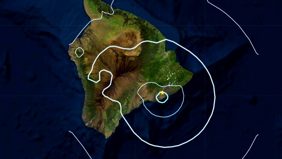 Another Earthquake Over Magnitude 4 Rumbles On Hawaiʻi