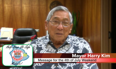 Hawaiʻi Shares COVID-19 Caution Messages For July 4th Holiday
