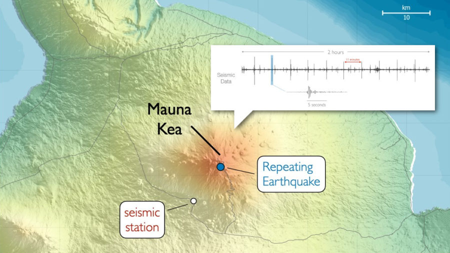 "VOLCANO WATCH: Mauna Kea ""Deep Repeating Earthquakes"" Examined"