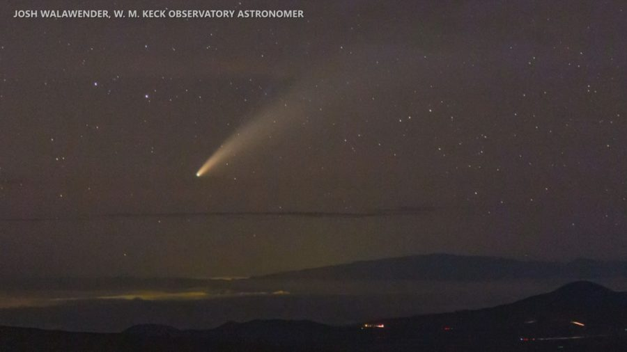 VIDEO: Spotting Comet NEOWISE From Hawaii Island