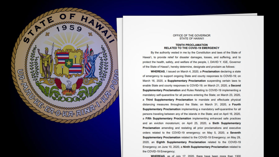 Governor Signs 10th Emergency COVID-19 Proclamation