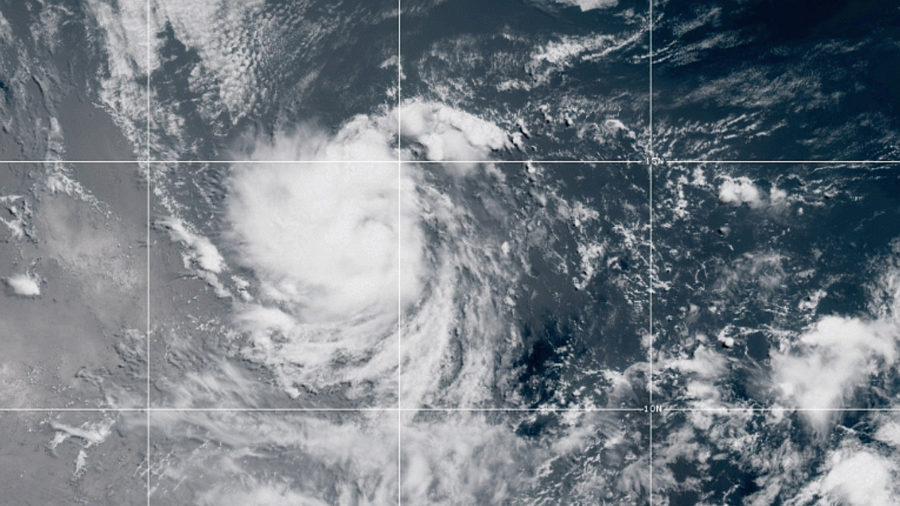 Tropical Storm Douglas Forms, Expected To Strengthen