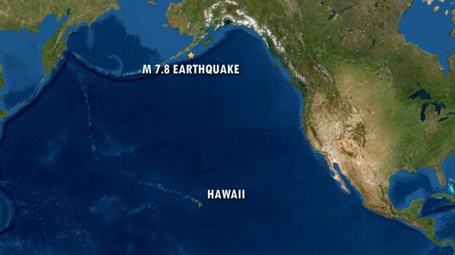 Tsunami Warning After Alaska Earthquake, No Threat To Hawaii
