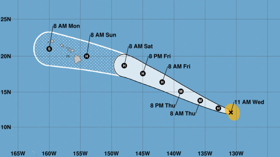 Hurricane Douglas Continues To Strengthen, Could Become Major Hurricane