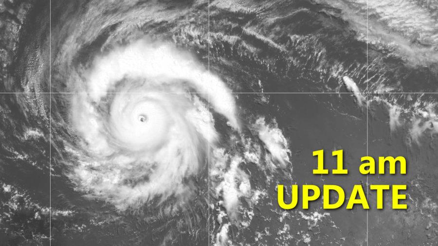 Hurricane Douglas Update for 11 a.m. Thursday
