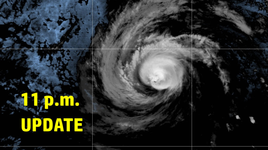 Hurricane Douglas Nears, Tropical Storm Warning For Hawaiʻi County – 11 p.m. Update