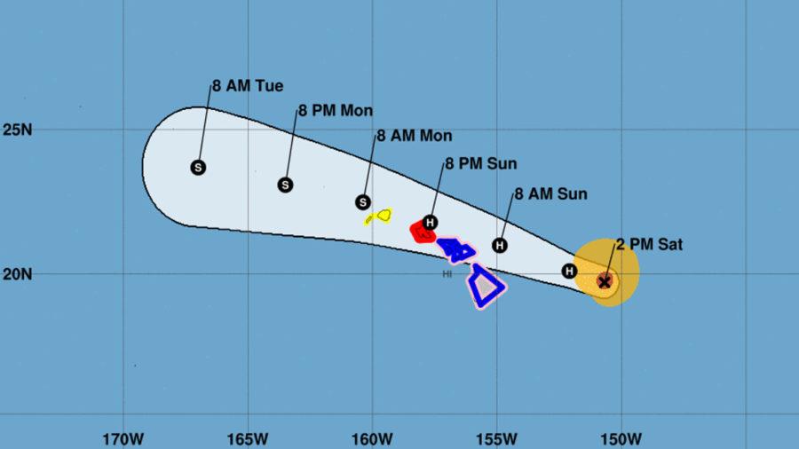 Hurricane Douglas 2 p.m. Update