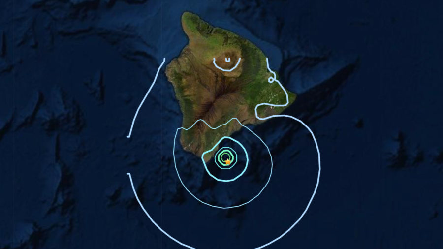 Magnitude 4.7 Earthquake Off Hawaiʻi Island