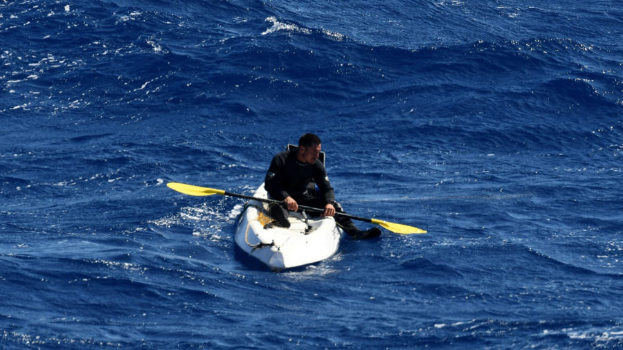 Kayaker Rescued Six Miles Off South Point
