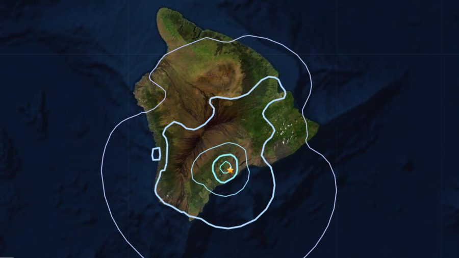 Magnitude 4.2 Earthquake Under Kaʻū Shakes Hawaiʻi
