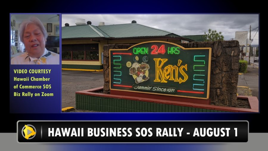 VIDEO: Suffering Hawaii Businesses Speak Out During Online Rally