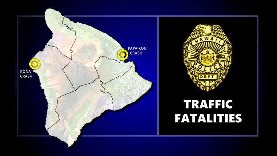 Two Hawaii Island Vehicle Fatalities Occur Within Hours