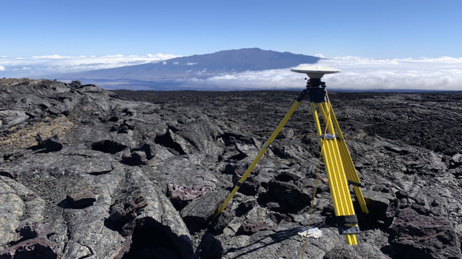 Scientists Conduct Annual GPS Survey On Mauna Loa