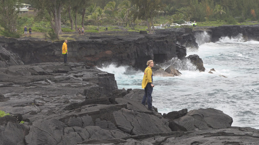 Man Swept Off Puna Sea Cliffs, Body Recovered
