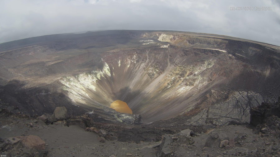 Kilauea Volcano Activity Update For August