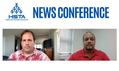 VIDEO: HSTA Calls For Full, Statewide Distance Learning In First Quarter