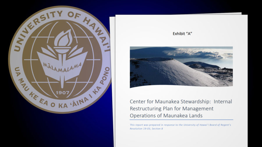 Mauna Kea Internal Management Restructuring Approved