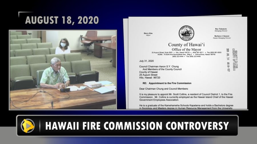 VIDEO: Mayor Kim Speaks On Fire Commission Controversy