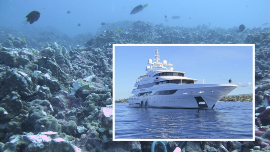 VIDEO: Luxury Yacht To Pay $100K For Dropping Anchor On Coral In Kailua Bay