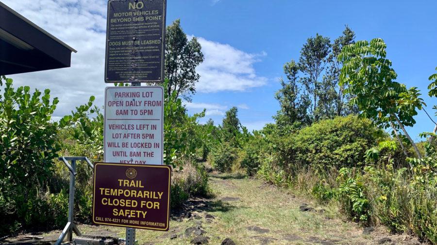 More Hawaiʻi Island Closures: Puna Trail, Shipman Beach